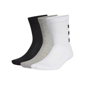 adidas-3s-ankle-socken-3er-pack-weiss-schwarz-grau-ge6167-fussballtextilien_front.png