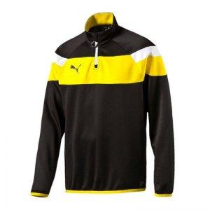 puma-spirit-2-1-4-zip-trainingstop-sweatshirt-reissverschluss-teamsport-vereine-men-herren-schwarz-f37-654657.png
