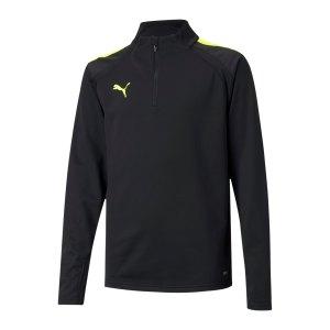 puma-teamliga-halfzip-sweatshirt-kids-schwarz-f40-657237-teamsport_front.png
